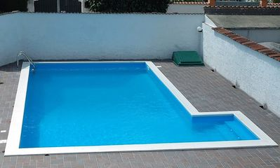 Photo for Villa close the sea with private swimming pool and 45 km from Rome