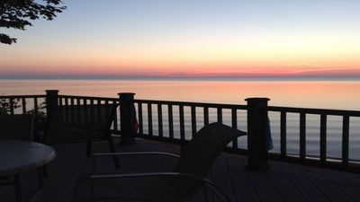 Photo for Private Lakefront, Quaint Cliffs Edge Cottage, Fabulous Sunrises   NON SMOKING