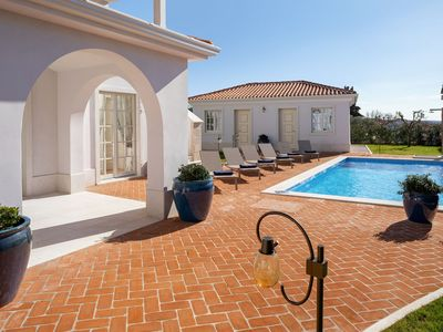 Photo for Luxury villa Cleo with private pool and garden, nearby sea, Porec