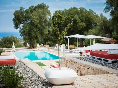 Photo for LA QUINTA ESSENZA – LUXURY HOLIDAY HOUSE CAROVIGNO APULIA