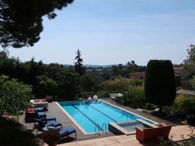 Photo for Lovely apartment for 6 people with private pool, WIFI, TV and parking