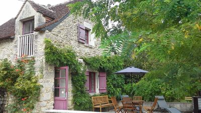 Photo for Cottage in the House of Joan of Arc, in the heart of the Loire Valley chateaux