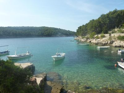 Photo for Holiday house Villa Dean  - Cove Osibova (Milna), Island Brac, Croatia