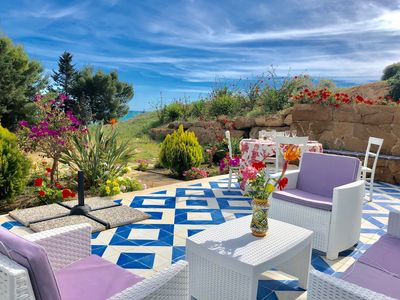 Photo for SUITE NARCISO by KlabHouse-4pax w/AC&terrace walk2beach
