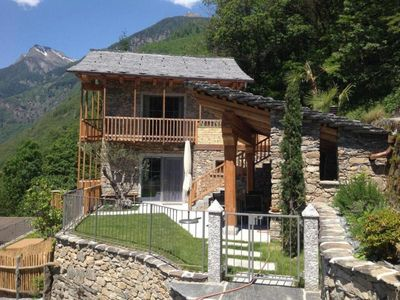 Photo for Holiday house Malvaglia for 2 - 6 persons with 3 bedrooms - Holiday house