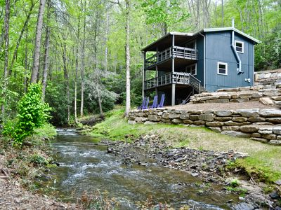 Photo for Rushing stream with privacy and seclusion
