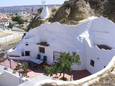 Photo for Self catering Cueva Amandier à Guadix for 4 people