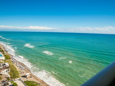 Photo for AMAZING 1 BEDROOM CONDO ON THE BEACH WITH DIRECT OCEAN VIEW & LUXURY AMENITIES