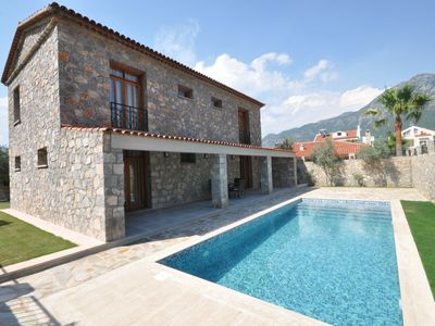 Photo for Secluded Stone Villa With Private Pool & Garden