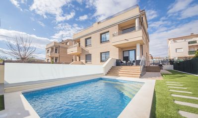 Photo for villa with private pool, wifi & jacuzzi