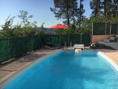 Photo for Southern Ardèche, House private pool