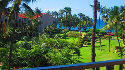 View From Kamaole Sands 3402 Lanai