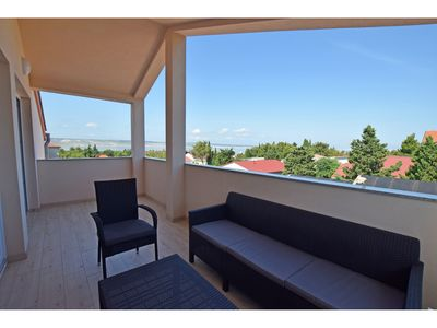 Photo for Apartment for up to 7 people with views to the mountains and the sea
