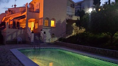 Photo for Peníscola-private villa of 200 sqm, private pool with 4 bedrooms and 2 bathrooms