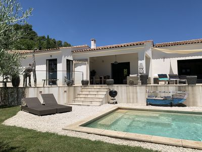 Photo for Recent upscale modern villa with private heated pool
