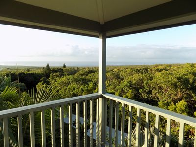 Photo for Hale Malulani, Breathtaking Ocean and Shoreline Views, Home on Tropical Estate.