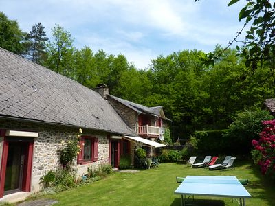 Photo for Grand MOULIN Restored In Bel Space Of Greenery, Close On Uzerche