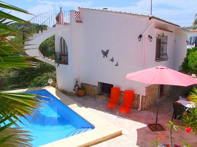 Photo for Maintained, cosy holiday villa with private Pool, quiet area