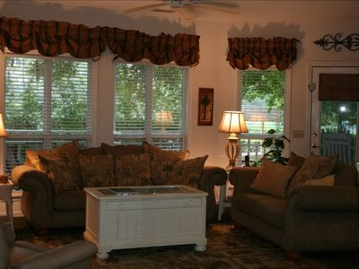 Photo for Relaxing, Low Country Crown Reef 2BR/2BA Beach villa, 2 Private Pools