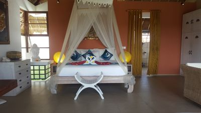 Photo for 4* VIEW SUITE 36m2 all comfort, 1-3guests, Umalas 8min beach Canggu Seminyak