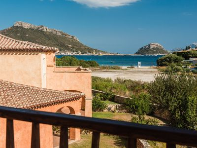 Photo for Golfo Aranci - Beautiful Seaview apartment for 5 100 mts from the beach - Golfo Aranci - Sardinia