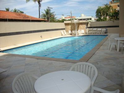 Photo for FREE HOLIDAY!PROMOTION!!150 m ENSEADA!WiFI!POOL!Churrasq!10 people!4 bed