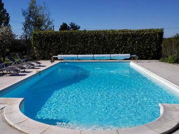 Elegant gite (98 sqm) in an typical Charentaise with  salted pool, Sw Fr. 4 Star
