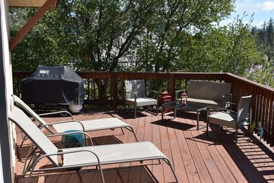Deck with Gas BBQ