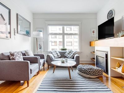 Photo for Stripes and Geometric Cool at a Crisp, Three Bedroom Pad