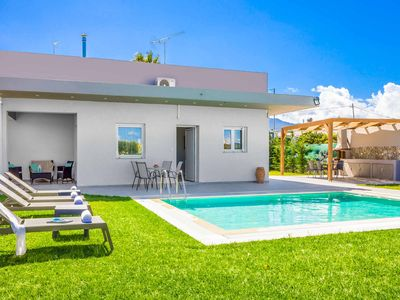 Photo for Villa Arhontia - Brand new house is all on one level, sleeps 5