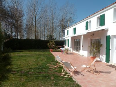 Photo for Rental House with character holiday. Ile d'Oleron, 6 to 12 people