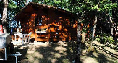 Photo for Camping La Truffière *** - Chalet 3 Rooms 4 People