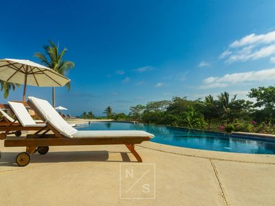 Photo for 5 Star Oceanview Penthouse, Modern & Luxury Finishes 3 min. walk to Beach & Town