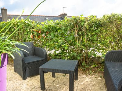 Photo for Apartment in Morgat, terrace, beach and shops on foot