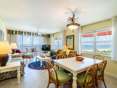 Photo for Rare Double Balcony End Unit Near Times Square! Right on the Beach