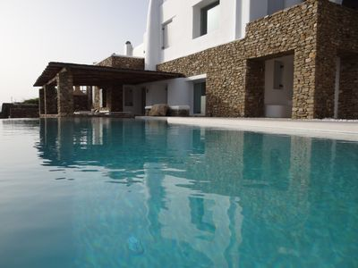 Photo for Villa 360 Views, 3-bedrooms 3-bathrooms sleeps up to 6 Guests in Fanari Mykonos with stunning sunset view