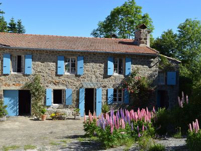 Photo for Atmospheric house on a French mountain with great view and vegetable garden