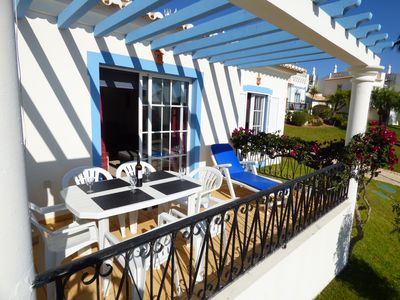 Photo for Beautiful Cottage, Golf Village, fully equipped, Wifi, large outdoor pool