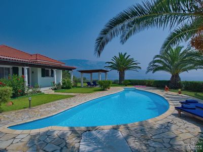 Photo for 2 bedroom Villa, sleeps 4 in Kleísmata with Pool, Air Con and WiFi