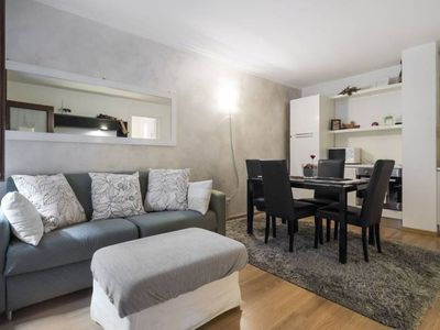 Photo for Confy Navigli apartment in Navigli with WiFi, air conditioning, balcony & lift.