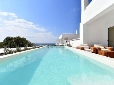 Photo for Luxury Paros Villa | Villa Kallihroe| Privacy & Luxury | Private Pool | Sleeps 12 | Glisidia
