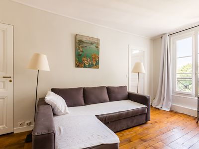 Photo for 1BR Apartment in the 7th, short walk to Luxembourg Palace and Gardens, by Veeve
