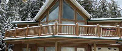 Photo for Alpine Aerie Chalet - Ski in/out
