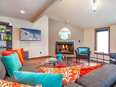Photo for Pet Friendly, Convenient to Vail or Beaver Creek, Golf Course Community, Modern Eagle Vail Home!
