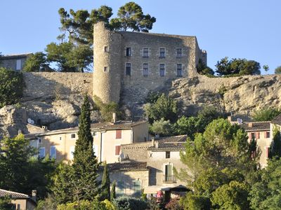 Photo for Authentic Menerbes Village House with Secluded Garden, Pool & Spectacular View