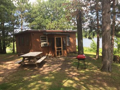 Photo for 2BR Cabin Vacation Rental in Danbury, Wisconsin