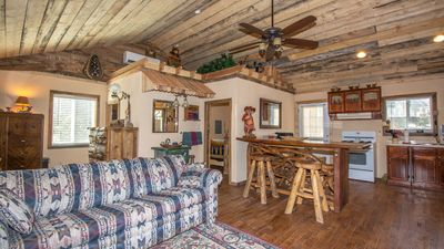 """Photo for Upper Canyon Lodging Co - """"Two Bear Cabin"""" - Romantic Hot Tub Cabin in the trees"""