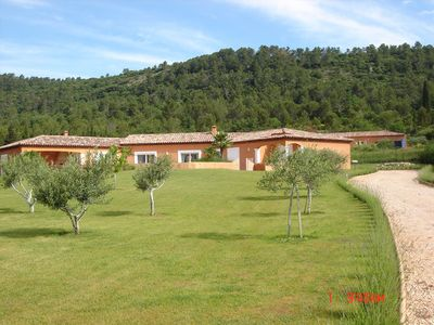 Photo for country house with pool in Provencal town