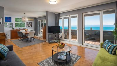 Photo for Sun Spalato Art - Apartment with balcony and sea view