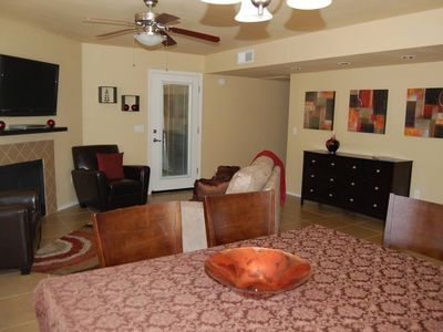 Photo for NEW LISTING!! Beautiful ground floor condo in the Catalinas Foothills